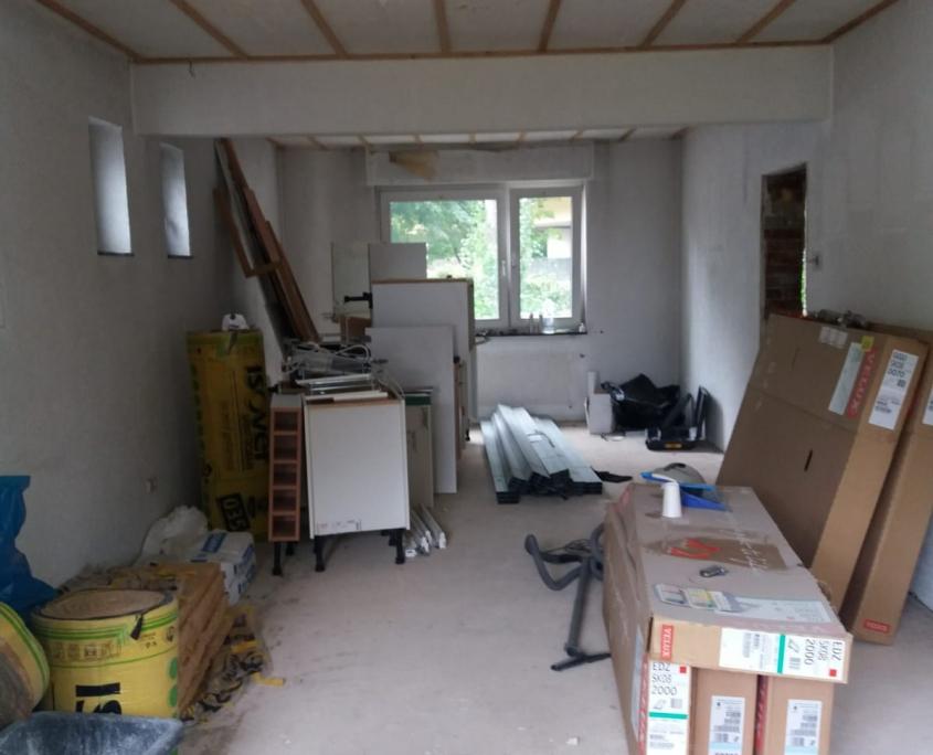 Bauprojekt Bausanierung in Leverkusen bei KARO Systembau NRW