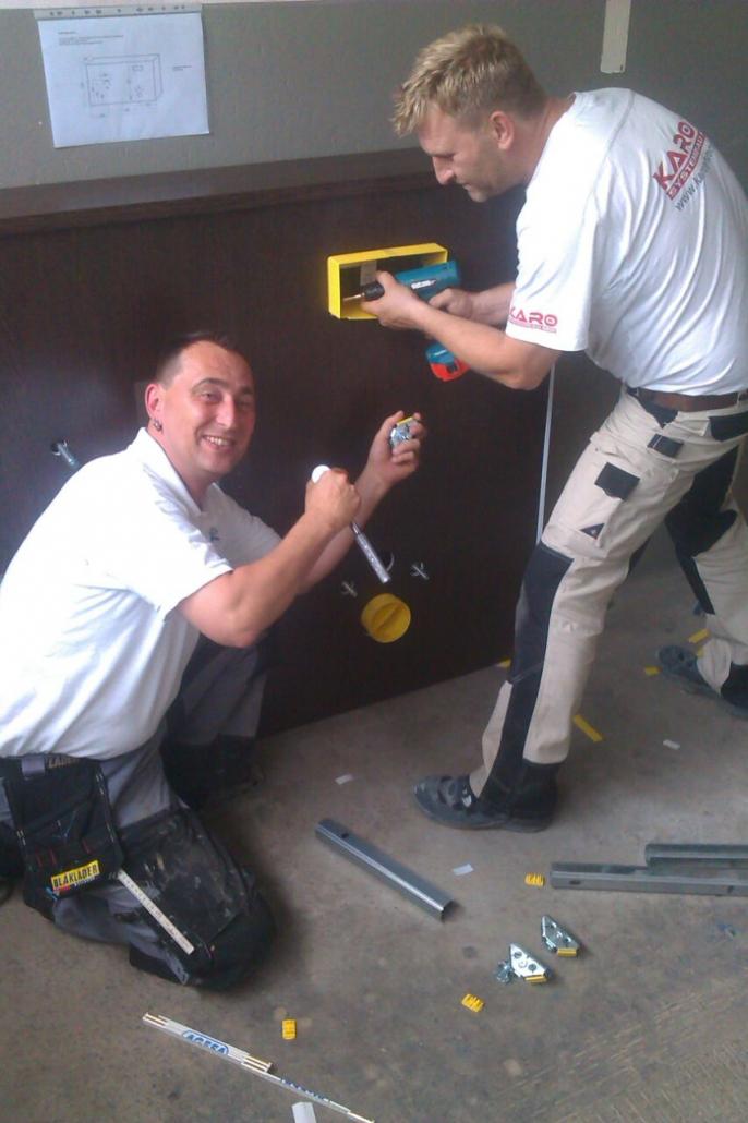 Sanierung Innenausbau Schimmelbeseitigung in Leverkusen bei KARO Systembau NRW