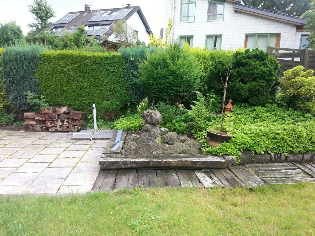 Brunnengestaltung_PK Burscheid_Vorher