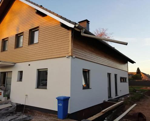 Projekt Haus-Sanierung: Fassade