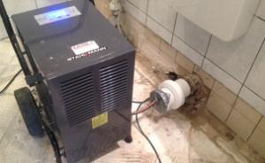 Bautrocknung von Feuchtigkeits- und Wasserschäden bei KARO Systembau NRW