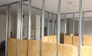 Innenausbau bei KARO Systembau NRW